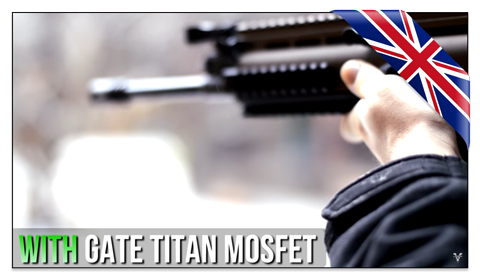 REVIEW | GATE TITAN MOSFET COMPLETE SET [VFC SCAR-L]